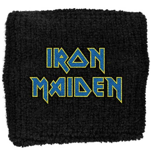 Iron Maiden Schweißband - Design: Logo Flight 666