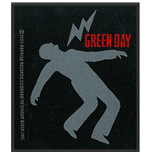 Green Day Aufnäher - Design: Lightning Bolt