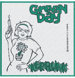 Green Day Aufnäher - Design: Kerplunk
