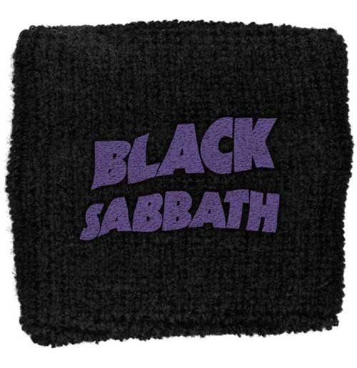 Black Sabbath  Schweißband - Design: Purple Wavy Logo