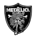 Metallica Aufnäher - Design: Raiders Skull