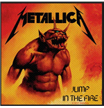 Metallica Aufnäher - Design: Jump in the Fire (Loose)