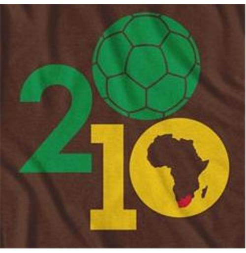 South Africa Soccer Ball Fussball-Weltmeisterschaft T-Shirt
