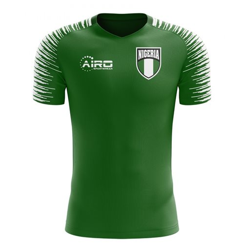 T-Shirt Nigeria Fussball 2018-2019 Home