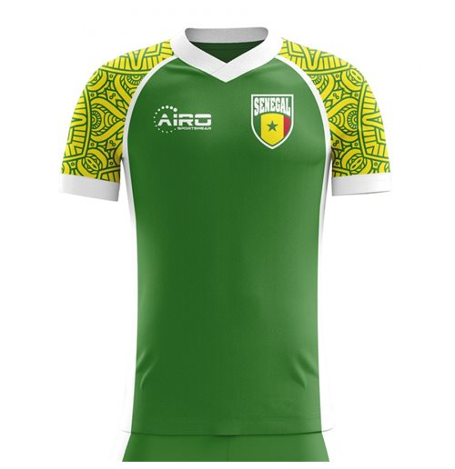 T-Shirt Senegal Fußball 2018-2019 Away