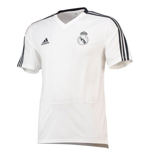T-Shirt Real Madrid 2018-2019 (Weiss)