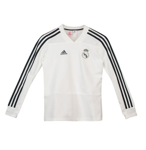 Sweatshirt Real Madrid 2018-2019 (Weiss)