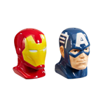 Marvel Comics POP! Home Salz- und Pfefferstreuer Iron Man & Captain America