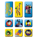 The Beatles Magnet - Design: Yellow Submarine