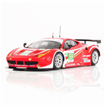 FERRARI 458 ITALIA GTE PRO #59 TEAM LUXURY 2ND PLACE 24H LE MANS 2012 FUJIMI