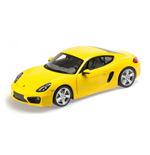 PORSCHE CAYMAN 2012 YELLOW