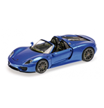 PORSCHE 918 SPYDER FINAL 2013 BLUE METALLIC