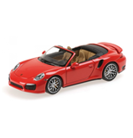 PORSCHE 911 TURBO S CABRIOLET 2013 RED
