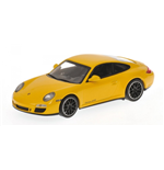 PORSCHE 911 GTS 997 II YELLOW 2011