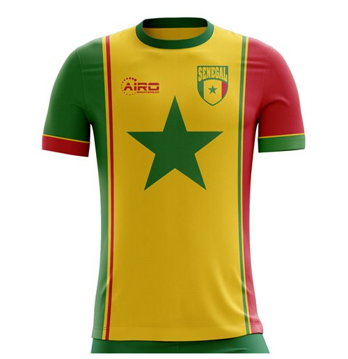 T-Shirt Senegal Fußball 2018-2019 Third