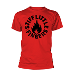 Stiff Little Fingers T-Shirt PUNK in rot