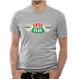 T-Shirt Friends - Central Perk in grau. Unisex