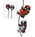 Marvel Comics Scalers Figuren Doppelpack Deadpool & X-Force mit Kopfhörer
