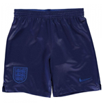 Shorts England Fussball 2018-2019 Home (Marineblau)