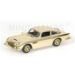 ASTON MARTIN DB 5 007 JAMES BOND GOLD PLATED