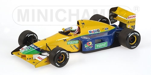 BENETTON FORD B191B M. BRUNDLE 1992