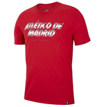 T-Shirt Atletico Madrid 2018-2019 (Rot)