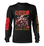 Kreator Longsleeve Trikot PLEASURE TO KILL