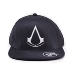ASSASSIN'S CREED Wappen Flatbill Cap, Schwarz
