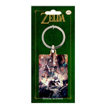 Legend of Zelda Twilight Princess Metall Schlüsselanhänger 6 cm