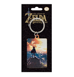 Legend of Zelda Breath of the Wild Metall Schlüsselanhänger Sunset 6 cm
