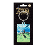 Legend of Zelda Breath of the Wild Metall Schlüsselanhänger View 6 cm