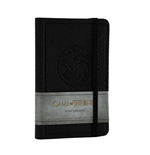 Game of Thrones Mini-Notizbuch House Targaryen