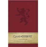 Game of Thrones Notizbuch House Lannister