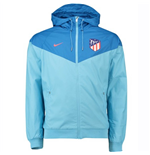 2018-2019 Atletico Madrid Nike Authentic Windjacke (Blau)
