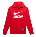 Sweatshirt Atletico Madrid 2018-2019 (Rot)