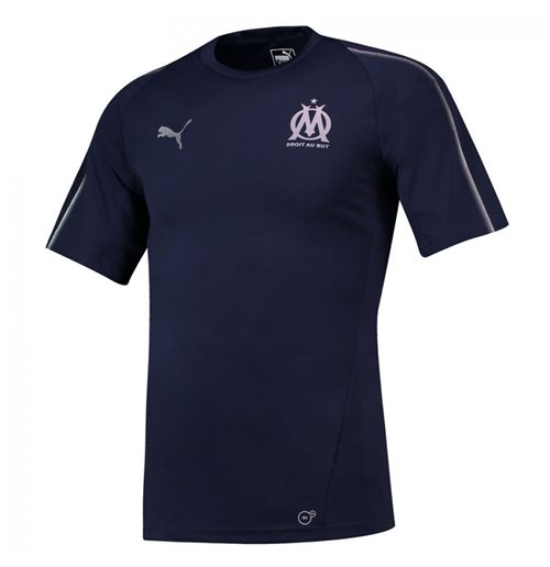 T-Shirt Olympique Marseille 2018-2019 (Marineblau)