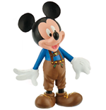 Disney Mickey Mouse & Friends Figur Micky Lederhose 7 cm
