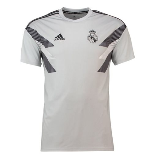 T-Shirt Real Madrid 2018-2019 (Grau)