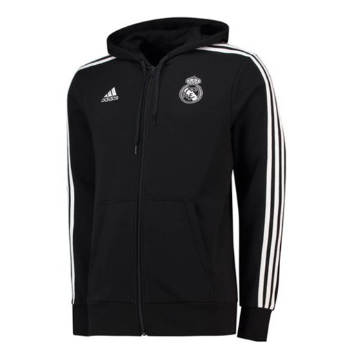 Sweatshirt Real Madrid 2018-2019 (Schwarz)