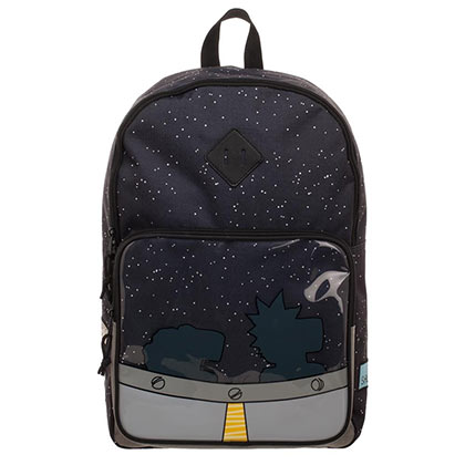 Rucksack Rick and Morty UFO