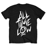 All Time Low Herren T-Shirt: Scratch (Retail Pack)