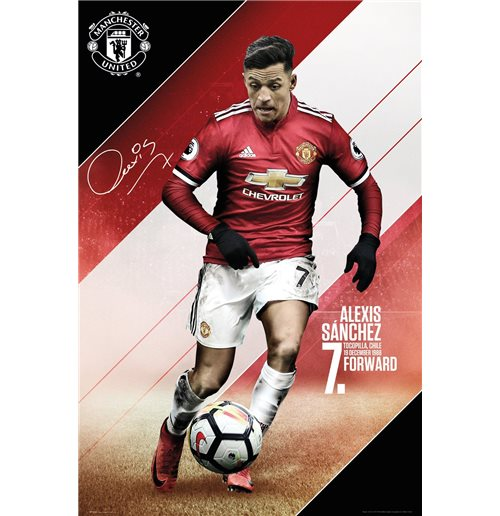 Poster Manchester United FC 311336