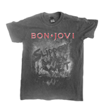 T-Shirt Bon Jovi Slippery When Wet (vintage WASH)