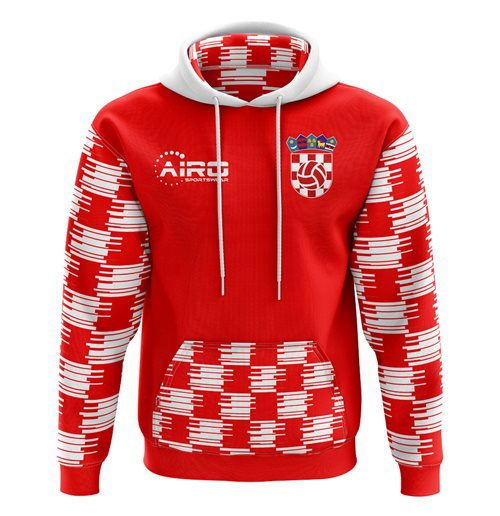Sweatshirt Kroatien Fussball 2018-2019 Home