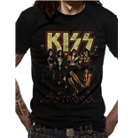 Kiss T-Shirt - Design: Skull Line Up Unisex