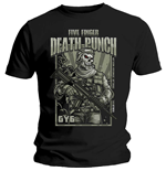 Five Finger Death Punch  T-Shirt für Männer - Design: War Soldier