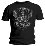 Five Finger Death Punch  T-Shirt für Männer - Design: Howe Eagle Crest