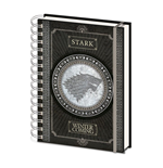 Game of Thrones Wiro Notizbuch A5 Stark