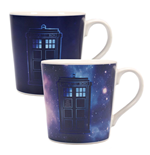 Doctor Who Tasse mit Thermoeffekt Galaxy