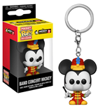 Micky Maus 90th Anniversary Pocket POP! Vinyl Schlüsselanhänger Band Concert Mickey 4 cm
